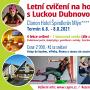 Léto se cvičením na horách s Luckou Dubnovou